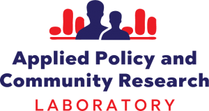 Logo for Applied Policy and Community Research Laboratory